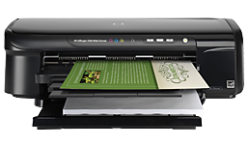 How to download and install HP Officejet 7000 E809a lazer printer driver program