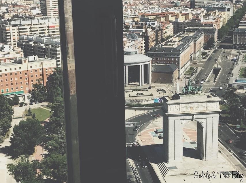 Vistas desde el faro de Moncloa