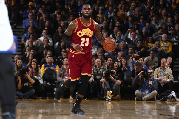 James Wears Nike LeBron 14 MLK Day PE in Big Loss vs Warriors