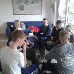 Påske træningslejr for ungdommen 2015
