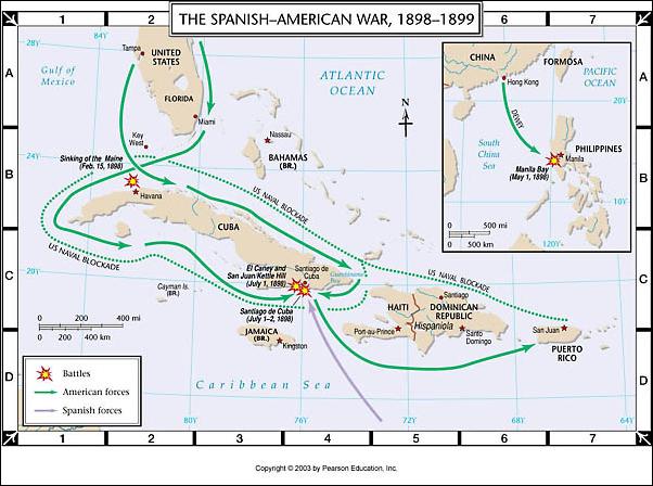 cause of spanish american war essay