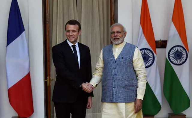 France stands ready to provide its support to India in its fight against COVID-19