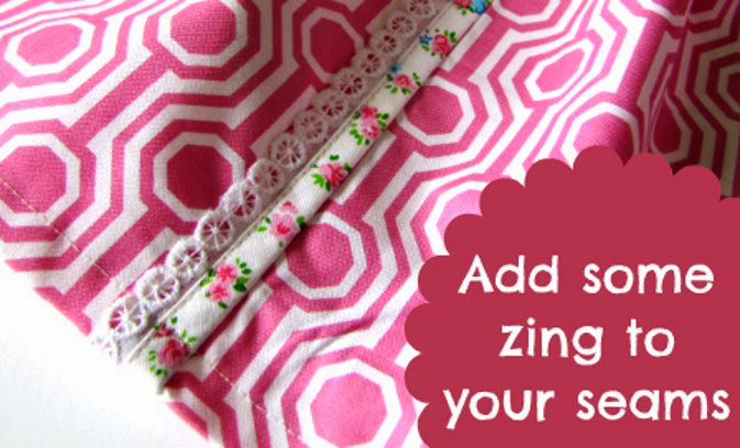 Serger Pepper - Bias Tape - add some zing