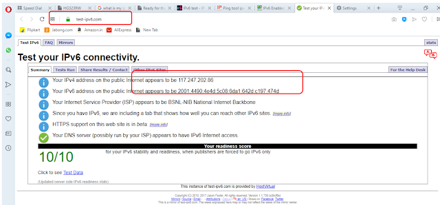 BSNL implemented IPv6 in Bharat Fiber (FTTH) Broadband network; How to configure IPv6  in your FTTH ONT?