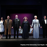Jennifer Van Iderstyne, Marty O'Connor, Tim Orcutt, Susan Katz, Cristine M. Loffredo and Paul Dederick in THE IVES HAVE IT - January/February 2012.  Property of The Schenectady Civic Players Theater Archive.
