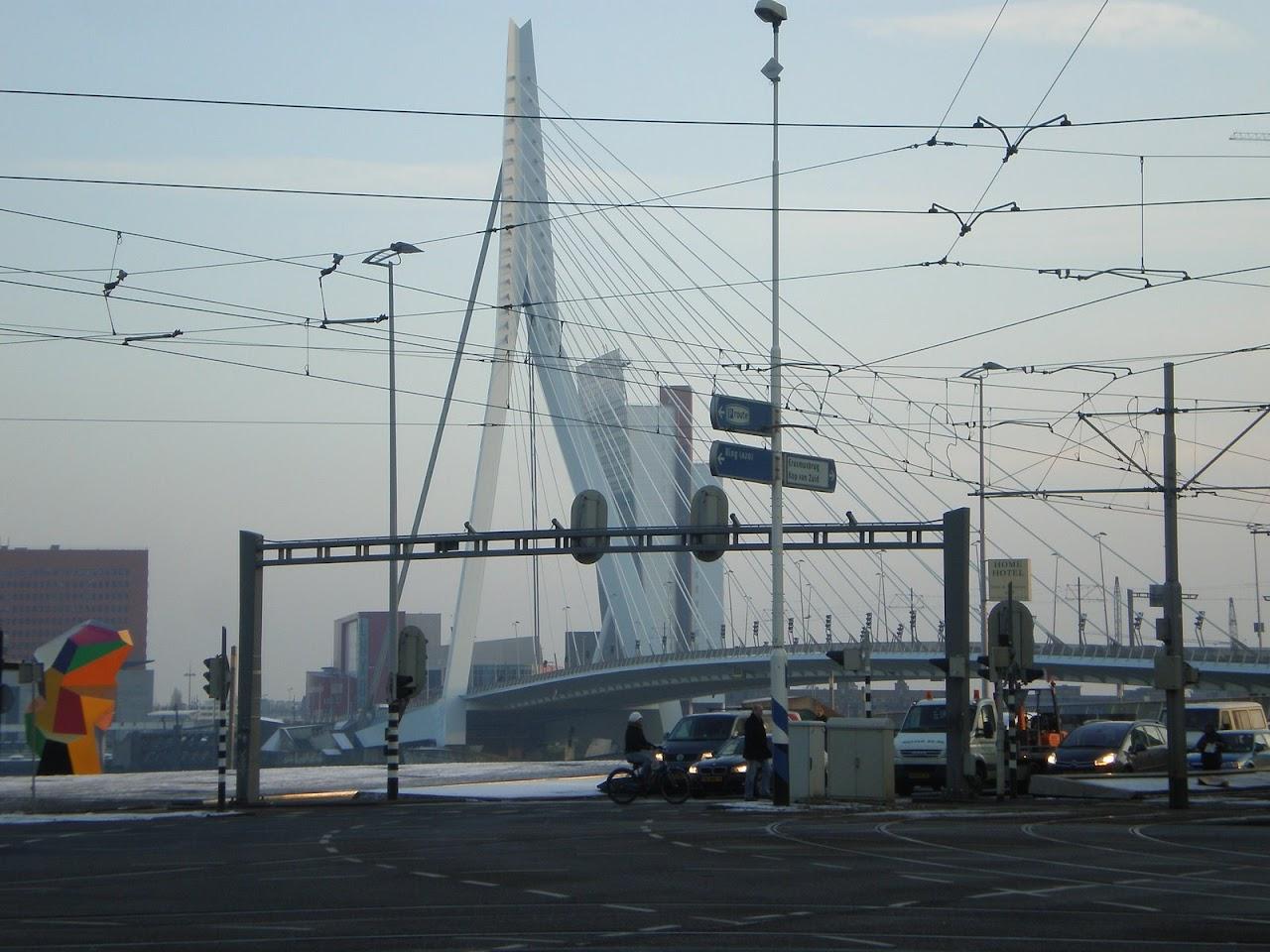 Brücke in Rotterdam