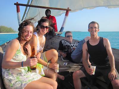 Sunset cruise, Zanzibar, Tanzania