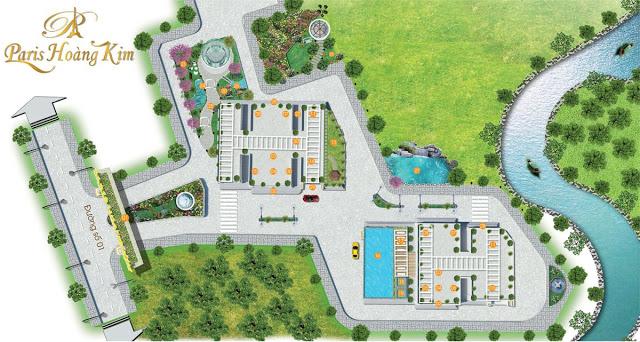Thiết kế căn hộ Căn Hộ Paris Hoàng Kim Quận 2 – Thủ Đức