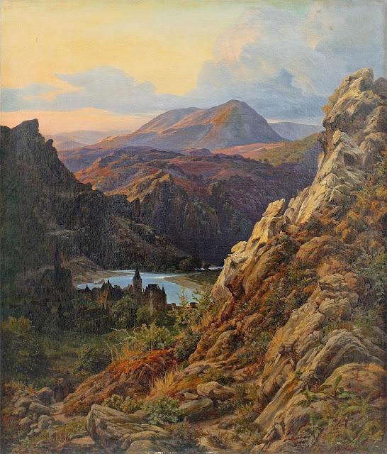 Johann Wilhelm Schirmer - Berglandschaft