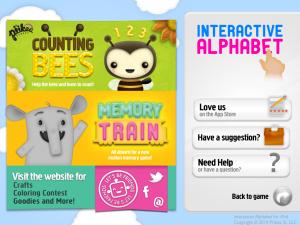 Interactive Alphabet Info