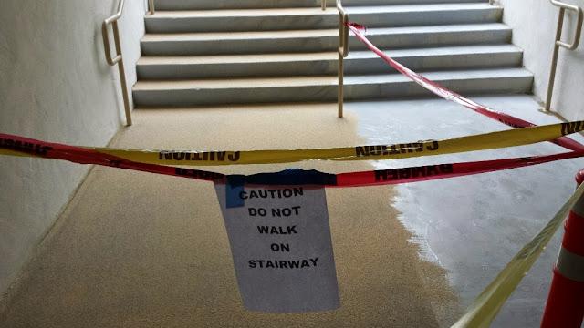 La Jolla Presbyterian Deck Waterproofing - 20131202_154936