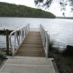 Wharf at Violet Hill camping area