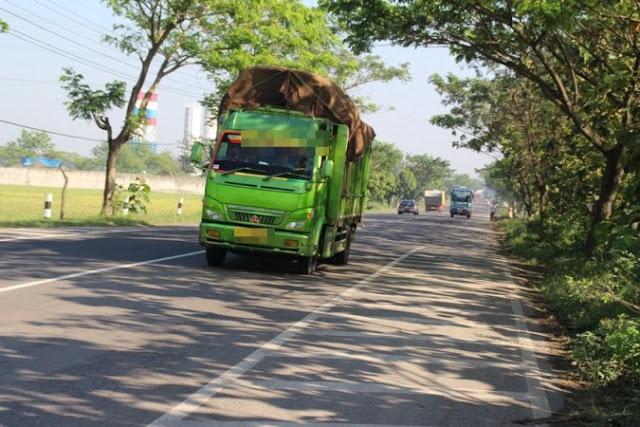jalur nudik ngawi solo, truk angkutan barang dilarang melintas