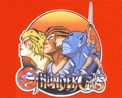 Thundercats - Cheetara, Tygra, Panthro e Lion