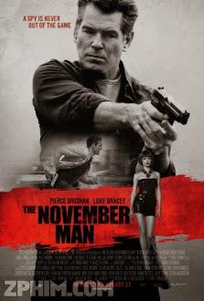 Sát Thủ Tháng 11 - The November Man (2014) Poster