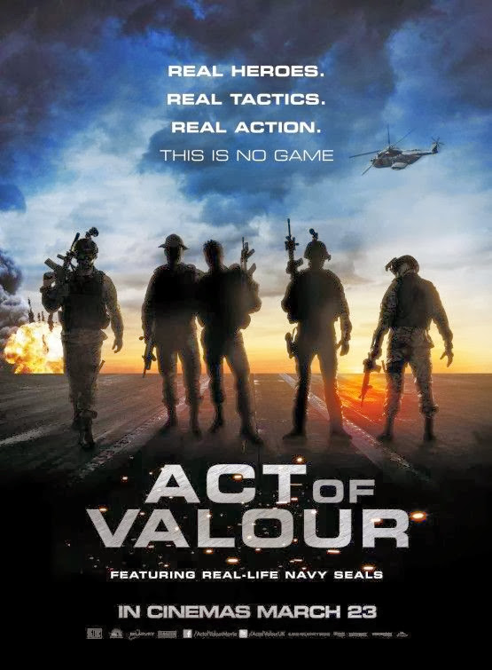 Poster Of Act of Valor (2012) Full Movie Hindi Dubbed Free Download Watch Online At Alldownloads4u.Com