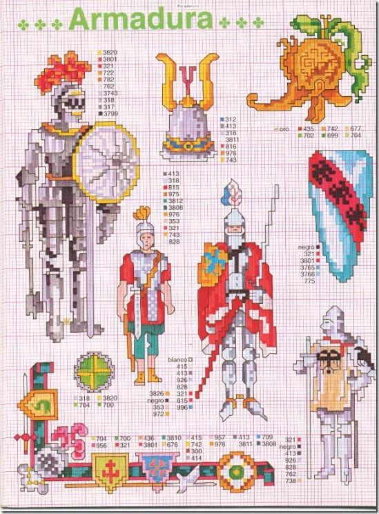 armaduras  punto cruz (1)