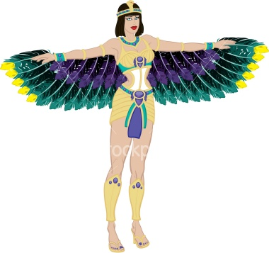 Isis Wings, Egyptian Magic
