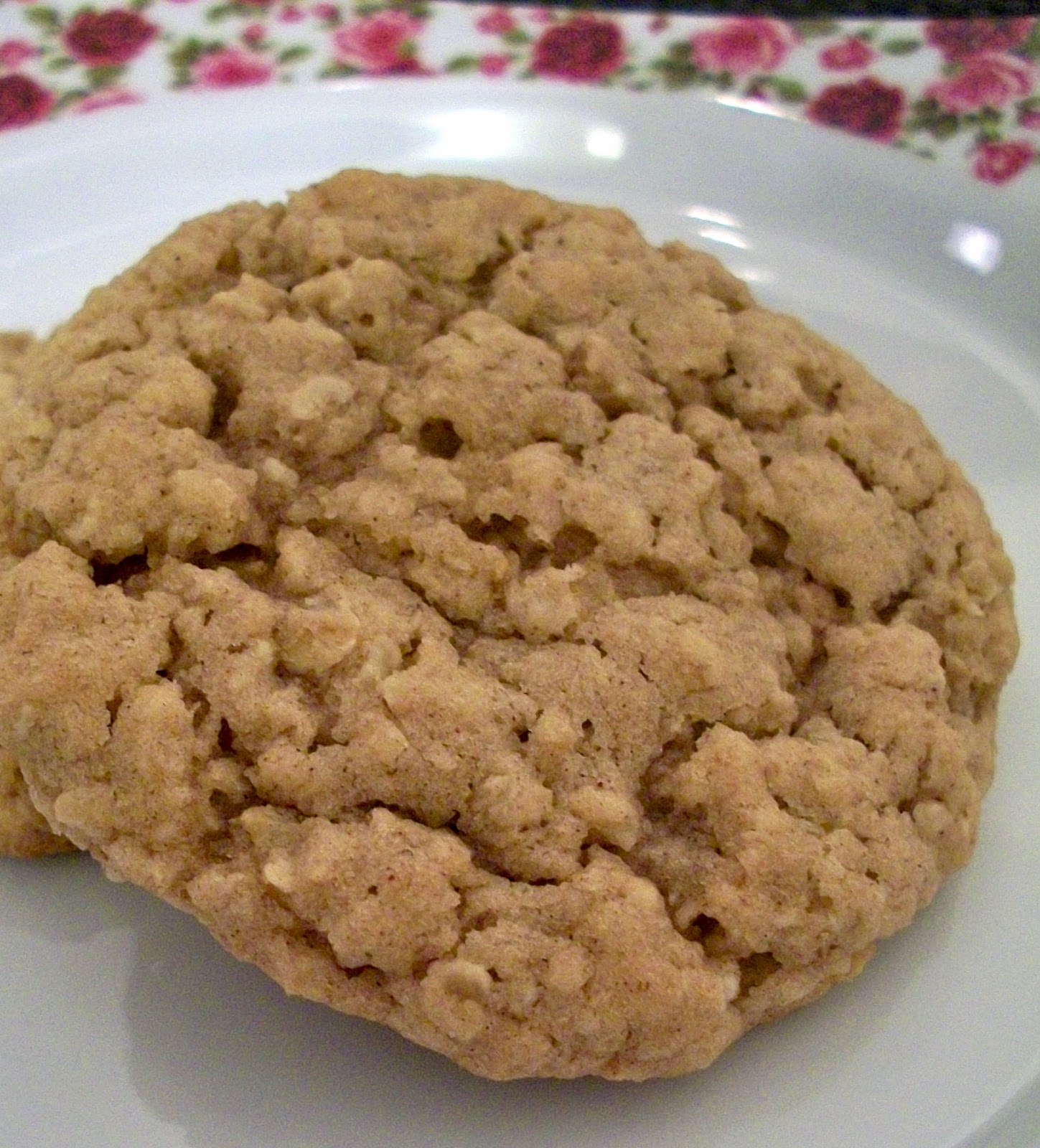 Brooke Bakes : Apple Cinnamon Instant Oatmeal Cookies