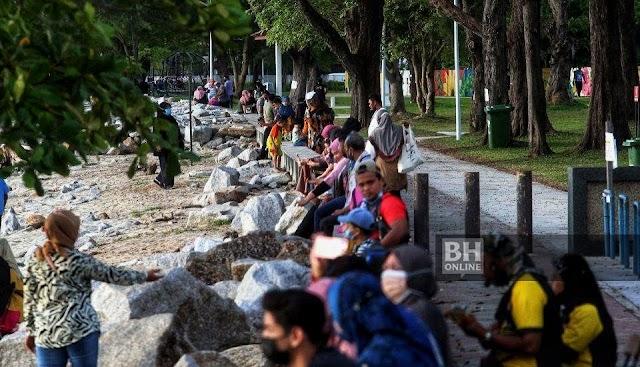 Tidak patuh SOP , Robina Eco Park ditutup 5 hari
