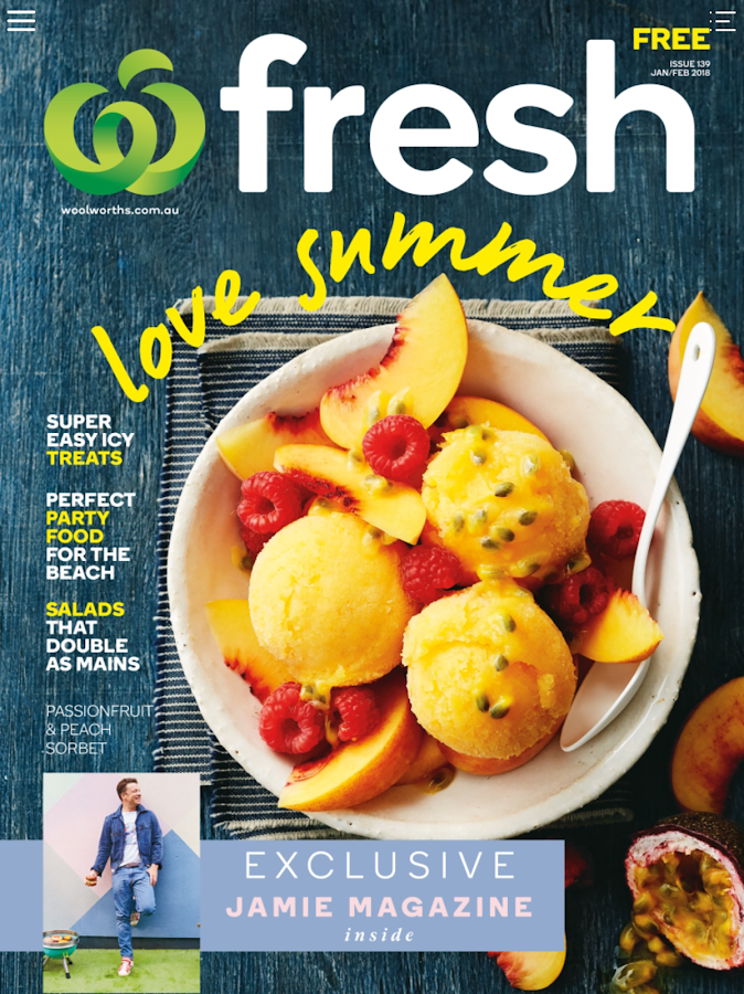 Fresh Food Ideas Woolworths Magazines