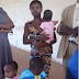 Woman allegedly trying to sell her three children arrested in Enugu State (see photos)