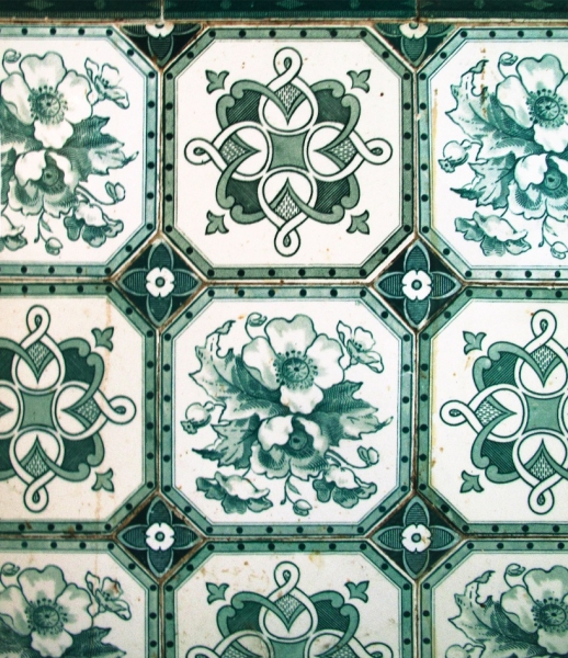 *改造中古世紀德國肉鋪的咖啡酒吧:Michael Grzesiak 保有原始彩繪磁磚! 2