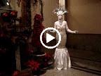 Crystal Goddess statue