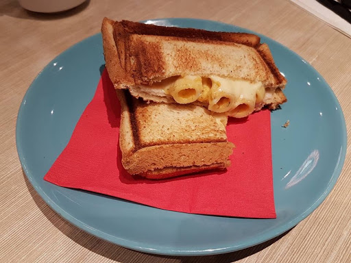 Mac n Cheese Toast from St Marc Cafe at Raffles City