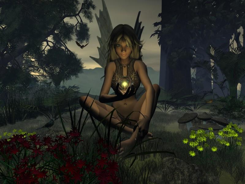 Fairy Wicca, Fairies Girls
