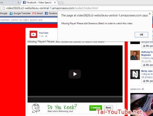 Hình 2 - Lưu ý những virus gửi tin nhắn trên facebook kèm avatar