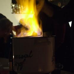 Weihnachtsfeier und Feuerzangenbowle
