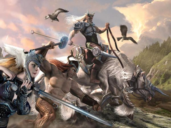 Ancient Magic Battle, Warriors