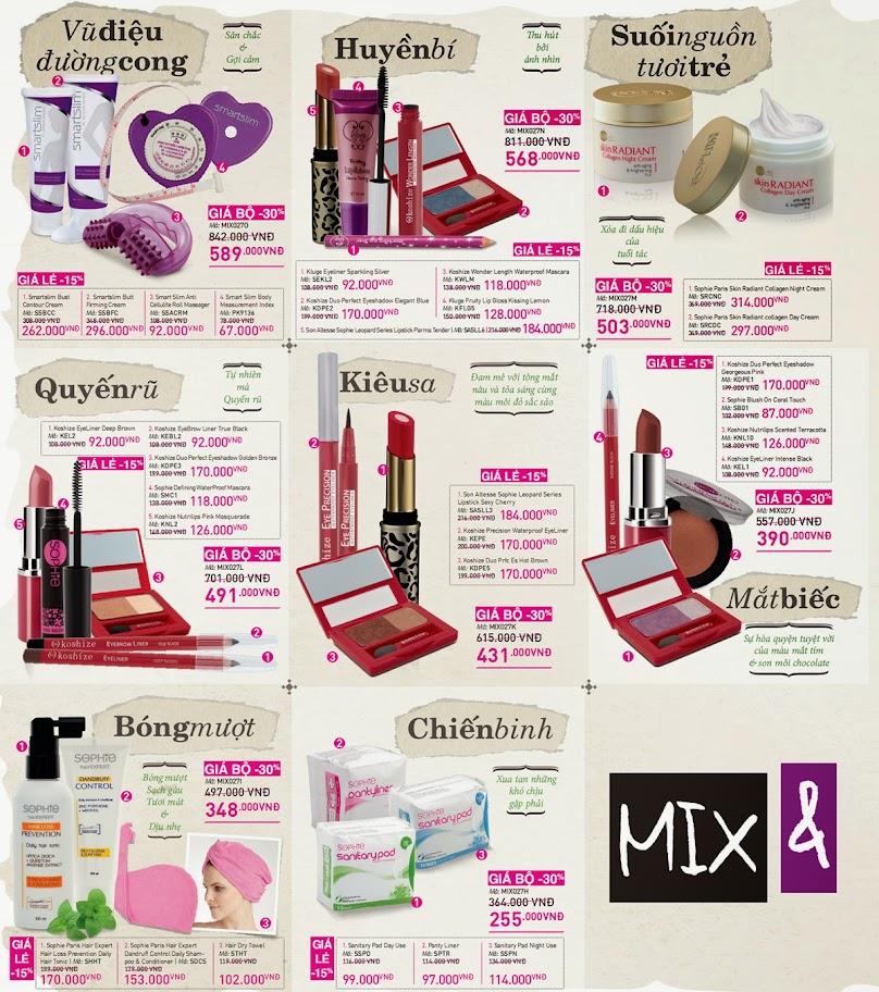 Chương trình Mix and Match Catalog 27