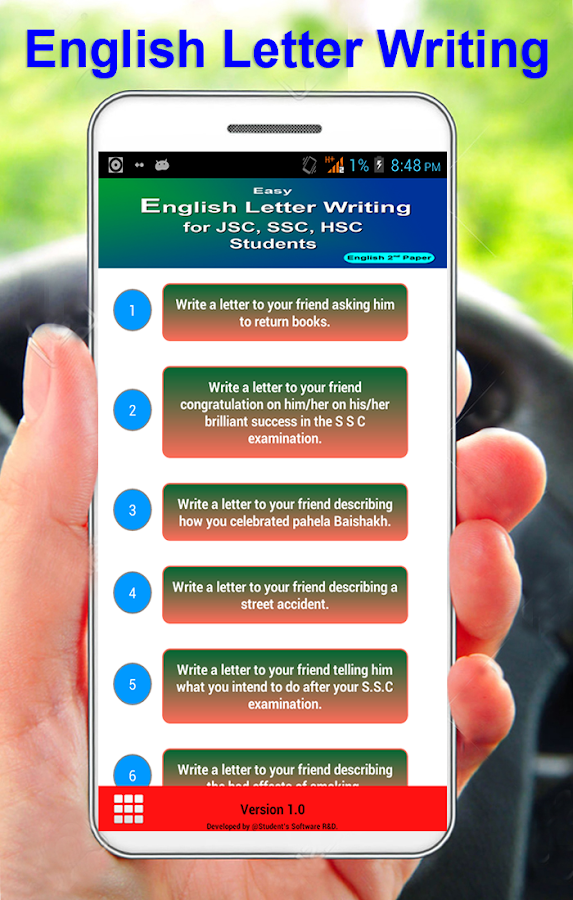 english letter writing android apps on google play english letter writing screenshot