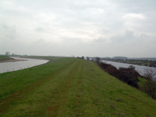 River Great Ouse and the cut-off channel