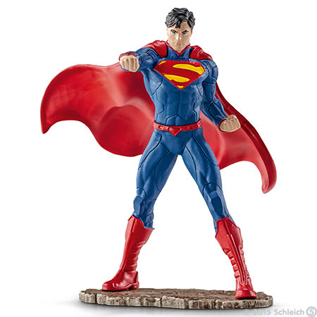 Contenido de Schleich® 22504 Superman Peleando