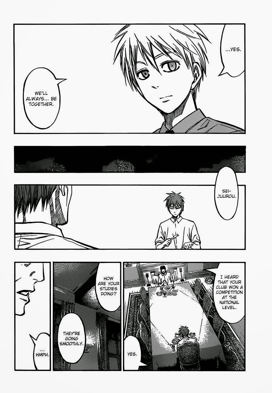 Kuroko no Basket Manga Chapter 220 - Image 08
