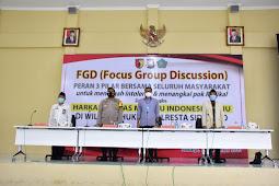 Menangkal Intoleran dan Radikalisme, FGD Tiga Pilar Hadir di Tengah Masyarakat