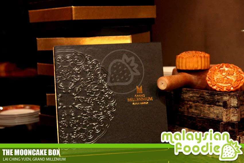 MOON CAKES FOR REUNION FESTIVAL WITH GRAND MILLENIUM HOTEL (INVITED REVIEW)
