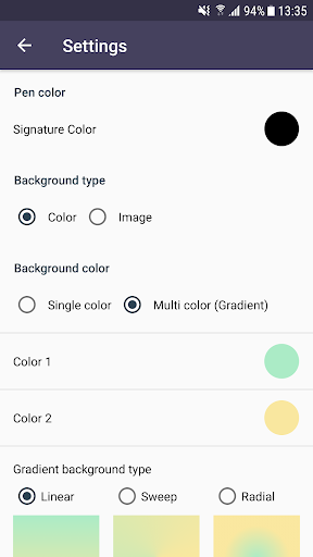 Signature Creator 6.0.2 screenshots 7