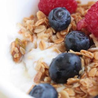 Almond Milk Yogurt.