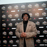 WWW.ENTSIMAGES.COM -  Coutney Pine arriving   at Jazz FM Awards at One Marylebone road London January 31st 2013                                                      Photo Mobis Photos/OIC 0203 174 1069