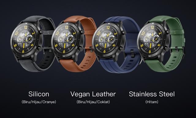 warna strap realme watch s pro