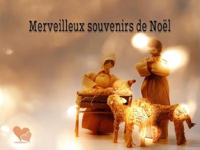 Carte de Noël : Merveilleux souvenirs