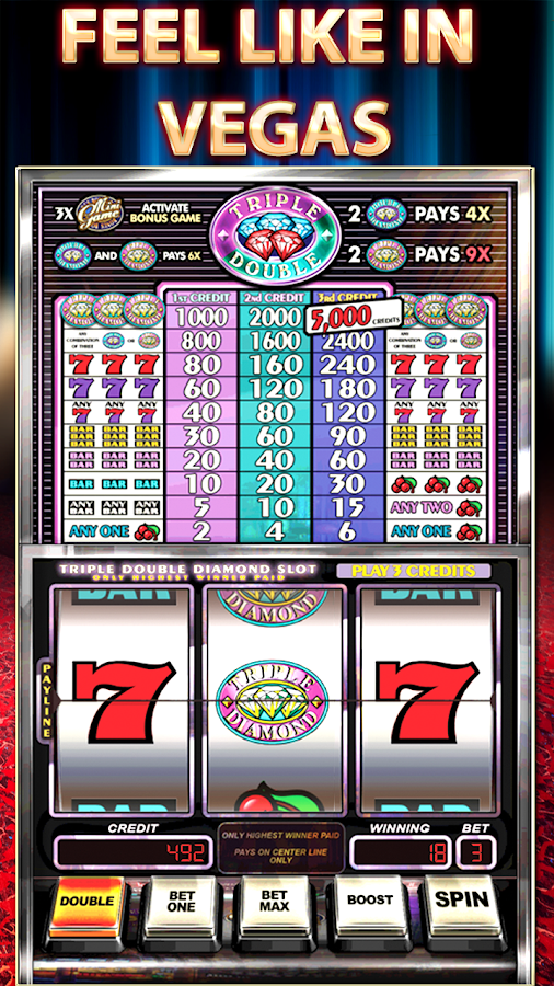 Play Triple Double Diamond Slots Free