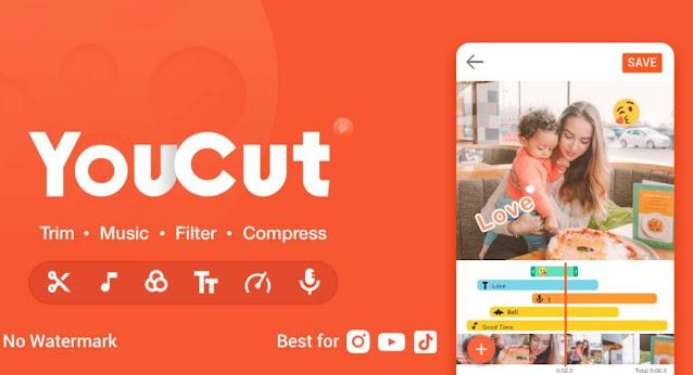 تحميل تطبيق YouCut-Video Editor مهكر  النسخة المدفوعة للاندرويد