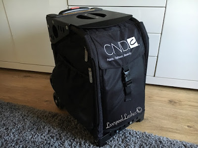 CND Pro To Go Bag ZUCA Pro Artist Case Review liverpoollashes liverpool lashes beauty blogger nail