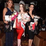OIC - ENTSIMAGES.COM - 3rd Runner Up, The Winner Amelia Rushmore-Perrin and 2nd Runner Up at the  Miss GB South East pageant at DSTRKT London 18th July 2015 Photo Mobis Photos/OIC 0203 174 1069
