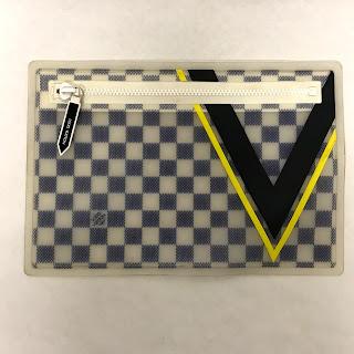 Louis Vuitton X America's Cup Pouch